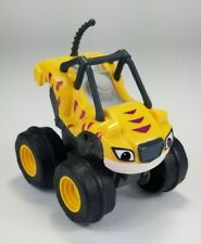 Used Slam & Go Stripes Blaze and the Monster Machines Fisher Price Mattel