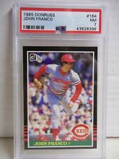 1985 Donruss John Franco RC PSA NM 7 Baseball Card #164 MLB