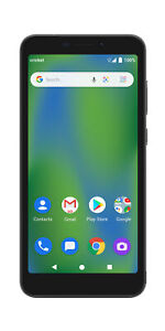 Vision 2   Prepaid Android Smartphone   Gray   Cricket Wireless - 16 GB   New