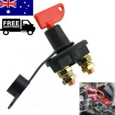 12V Disconnect Battery Isolator Cut Off Kill Switch Key Universal for Car Boat