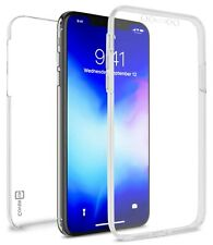Clear Full Body Phone Case for Apple iPhone 11 Pro Max Front Back Hybrid Cover