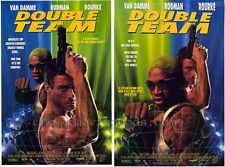 DOUBLE TEAM Movie POSTER 27x40 B Jean-Claude Van Damme Dennis Rodman Mickey