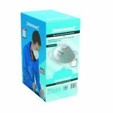 Silverline 427698 Respirator Moulded Valved Mask FFP3 NR Display Box - Pack of 10