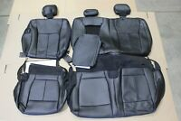 OEM 17-18 Ford F150 Leather REAR Seat Covers CREW CAB New Take Off LARIAT Truck