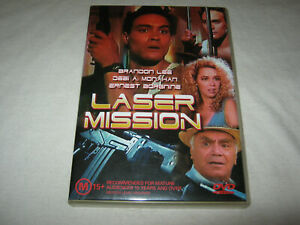Laser Mission - Brandon Lee - VGC - DVD - R4