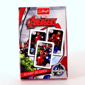 Avengers Playing Card Games - Black Peter. Karty do Gry Avengers. Piotrus.