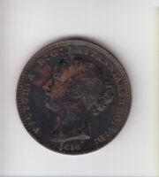 1856 NOVA SCOTIA PENNY TOKEN COIN