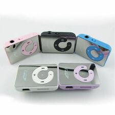 Mini Schwarz Mirror Clip USB Digital Mp3 Music Player Card ~ TF Support 8GB I6E2