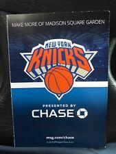 New York knicks 2018-19 Season Schedule