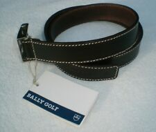 BALLY GOLF Damen-Gürtel Leder braun Modell Ballys ladies belt Artikel-Nr. 62573