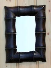 Neues AngebotBAMBUSDESIGN SPIEGEL Wandspiegel Asia Dekospiegel Holzspiegel  Kolonialstil Deko