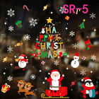 Christmas Party Home Decor Wall Stickers Pvc Stickers Glass Window Removable