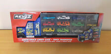 REVZ 49CM Truck Carry Case Includes 12 Diecast and Plastic Cars NEW Free  P&P UK