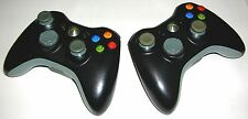 GENUINE OEM - (2) XBOX 360 MICROSOFT WIRELESS GAME REMOTE CONTROLLER