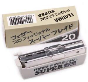 20 Feather Artist Club Professional Super single edge razor blades