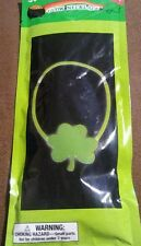 Lot of 5 Glow Stick Necklaces - Clover - Glows up to 6 hours - New Nip Packs