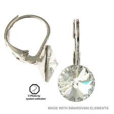Versilberter Mode-Ohrschmuck mit Schnappverschluss