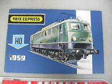am236-0, 5 # Trix Express H0 Catálogo 1959 Perforado / MUY BUEN