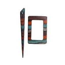 Knit Pro Adel en Tissu Bois Accessoires Fermoir Châle Pin Bâton