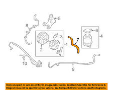 TOYOTA OEM Power Steering-Reservoir Tank Hose 4434806260