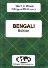 Bengali Word to Word® Bilingual Dictionary by Bilingual Dictionaries (2010, T...