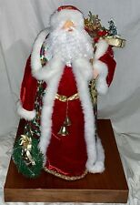 "Santa Clause Figure, Holiday, Christmas, Collectible, 22"" T49.95all"