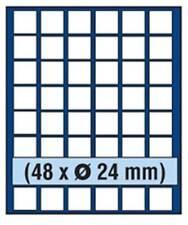SAFE 6824 NOVA Element exquisite Holz-Münzbox für 48 Münzen mit 24 mm Durchmesse