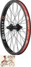 "ODYSSEY HAZARD LITE CASSETTE 36H--14MM AXLE--20""--RHD/LHD BICYCLE REAR WHEEL"
