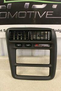 2002 Chevrolet Camaro SS 35th Anniversary Original Radio Trim Panel GM Black 54K