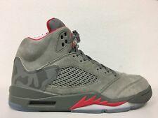 64f28d34b37592 Nike Mens Air Jordan 5 Retro Reflective Camo Dark Stucco Red 136027 051 Sz  11.5
