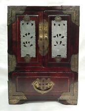 Scatola portagioie primi '900 in legno CIna cm 22x15,5x12 Antikidea
