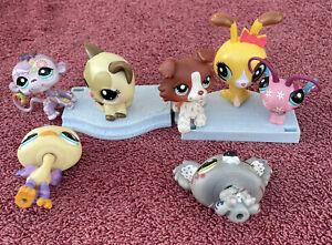 Little Pet Shop Mini Figures (Lot Of 7)