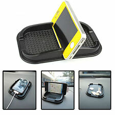 Smart Phone Mobile Anti Slip Non Stick Car Dash Dashboard Mat Pad Holder Black