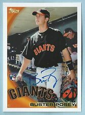 BUSTER POSEY 2016 TOPPS ARCHIVES 65TH ANNIVERSARY RED BACK AUTOGRAPH AUTO /25