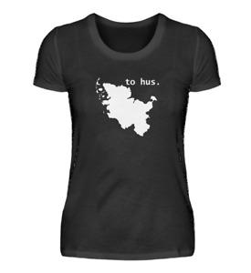 to hus. - Damen Premium T-Shirt Schleswig-Holstein