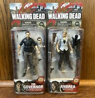 The Governor & Andrea McFarlane Walking Dead Series 3 Action Figures Lot New NIB