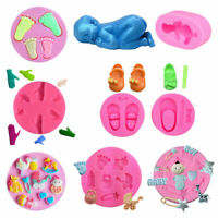 3D Silicone Fondant Mold Cake Cookie Pudding Baking Mould Sugar Decorating Tools