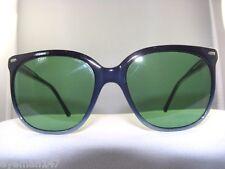 """NEW Vintage Maui Jim CAT EYE""""Frame NAVY/ GREEN 70% Lenses 100% UV PROTECTION"""