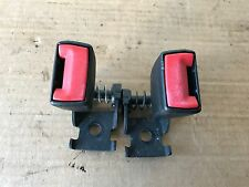 BMW OEM E63 645 650 M6 REAR BACK SEAT LOWER BELT BUCKLE PAIR LEFT RIGHT