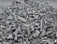 Lego 100 x techo piedras gris neuhell gris roof Brick newgrey normal and inversamente