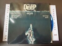 THE DEEP ORIGINAL SOUNDTRACK BLUE VINYL LP IN SHRINK W/ INSERT NBLP 7060