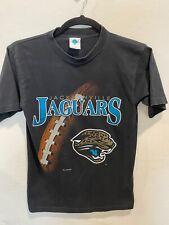 Vintage Jacksonville Jaguars Black T-Shirt Nfl 90's 1995 Nfl Football Tee Medium