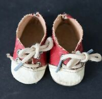 "Vintage Original Madame Alexander red Saddle Oxford Shoes for 18"" doll"