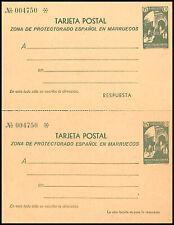 1933.Marruecos.MNG.Ed:(*)EP22.E.P.Paisajes.15 cts +15 cts ver.Separados.PC:160€