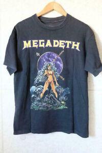 Retro 90's Megadeth Rock Band Vintage T Shirt