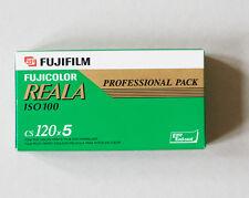 Fuji Reala 120 film - 5 rolls. Expiring date: 10/2007.