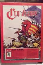 Cry Havoc - Eurogames 1981 - Ottime condizioni - PUNCHED