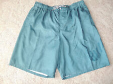 Mens Size XL Nike Teal Blue Elastic Lined Swim Suit Trunks Shorts SU22008