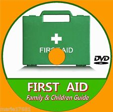 LEARN BASIC EMERGENCY FIRST AID CARE PROCEEDURES FOR KIDS/ FAMILY VIDEO DVD NEW
