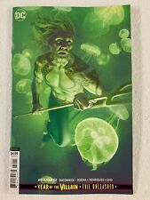 Aquaman #52 Joshua Middleton Card Stock Cover B Variant Yotv Dc Comics 2019